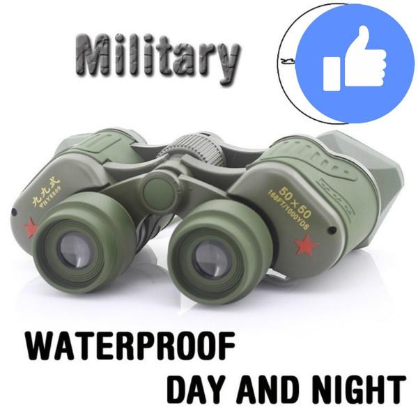 Telescope, Army, Binoculars, 50x50