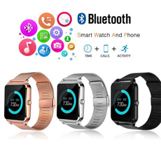 Stainless, Waterproof Watch, Phone, Stainless Steel Watches