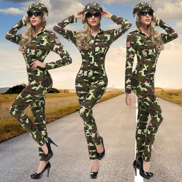 sexy uniform, camouflageuniformsuitset, Novelty & Special Use, Army