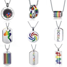 Steel, rainbow, Fashion, Jewelry Accessories