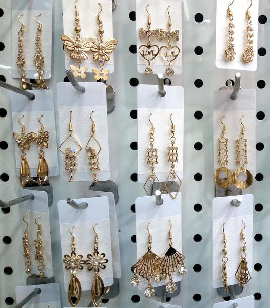 butterfly, goldplated, Dangle Earring, Jewelry