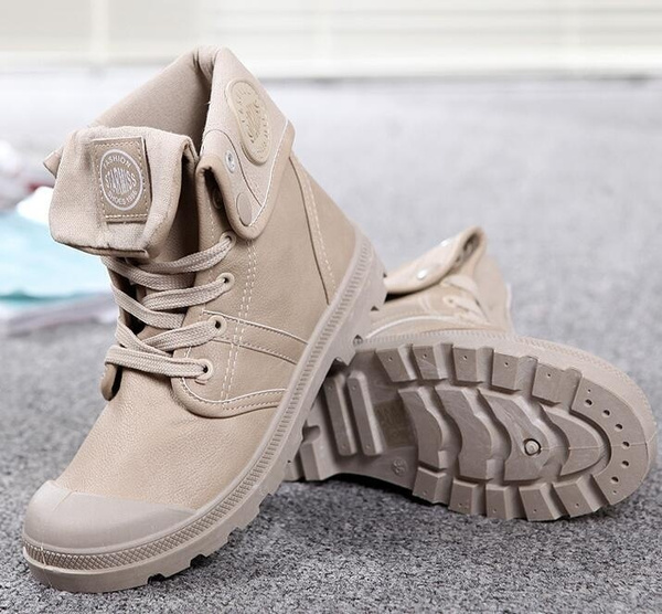 Winter, Army, leather, men boots