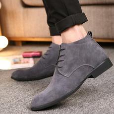 ankle boots, Flats, Men, Classics