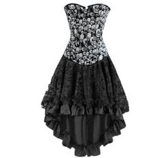 corset top, corsetdressplussize, bustier dress, Halloween Costume