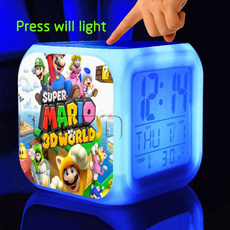 supermariobrosclock, Toy, led, Colorful