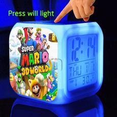supermariobrosclock, Toy, led, Colorful