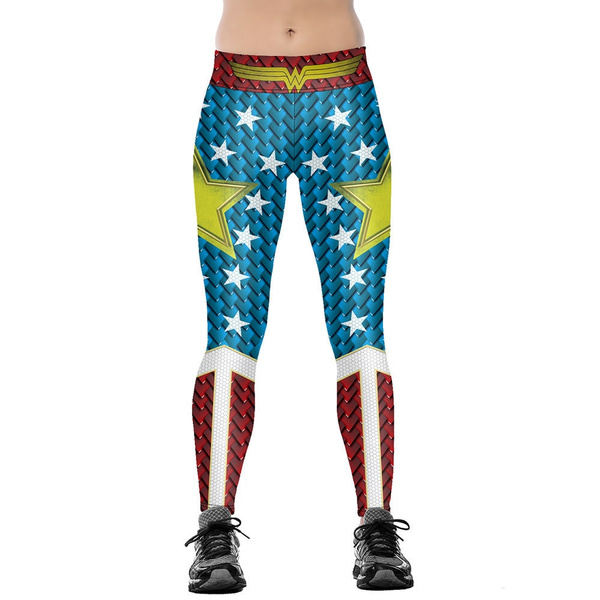 Leggings, Woman, Star, high waist