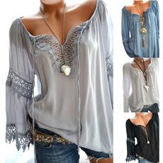 Women, Fashion, tunic, Lace