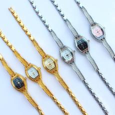 Steel, quartz, Jewelry, gold