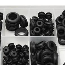 Box, rubberring, spare parts, rubberoring
