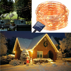 Christmas, fairy, Waterproof, solarstringlight
