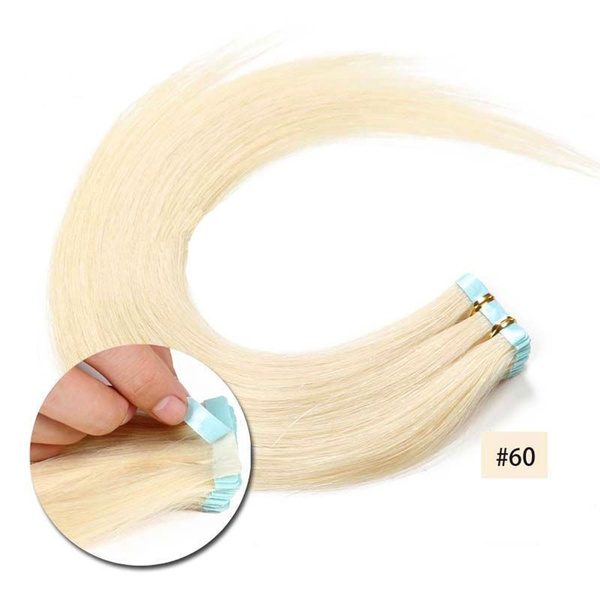 platinum, Hair Extensions, tapeinhair, remyhumanhairextension