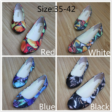 butterfly, casual shoes, singlesheo, Flats shoes
