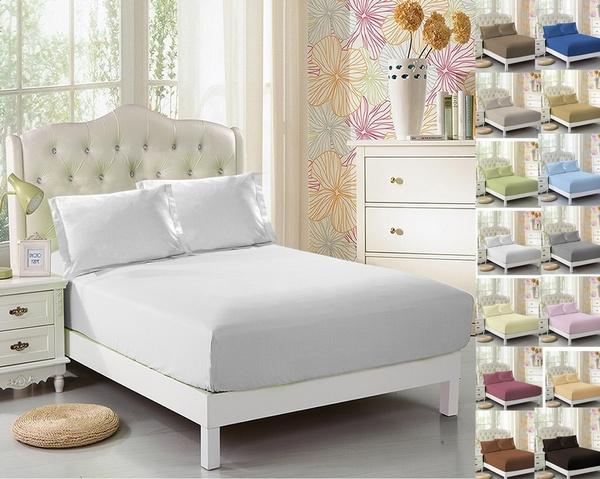 Polyester, sheetset, Luxury, Elastic