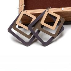 Chic, Design, Fashion, woodenearring