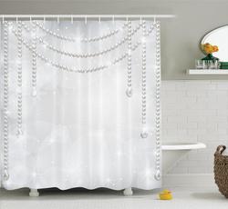 waterproofshowercurtain, Shower, Polyester, DIAMOND