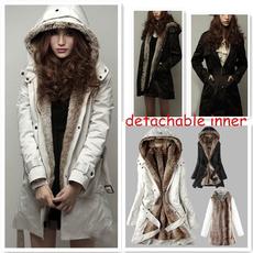 Fashion Accessory, womencottonpaddedclothe, fur, Winter