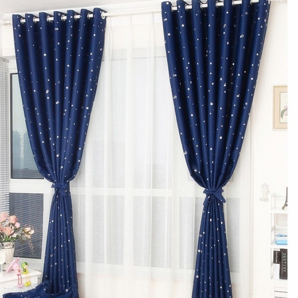 bedroomcurtain, living, Decor, Star
