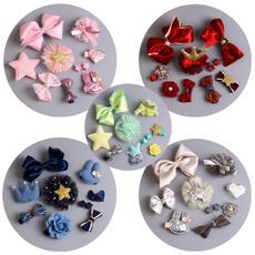 infanthairpin, ribbonbowbarrette, Flowers, Barrettes