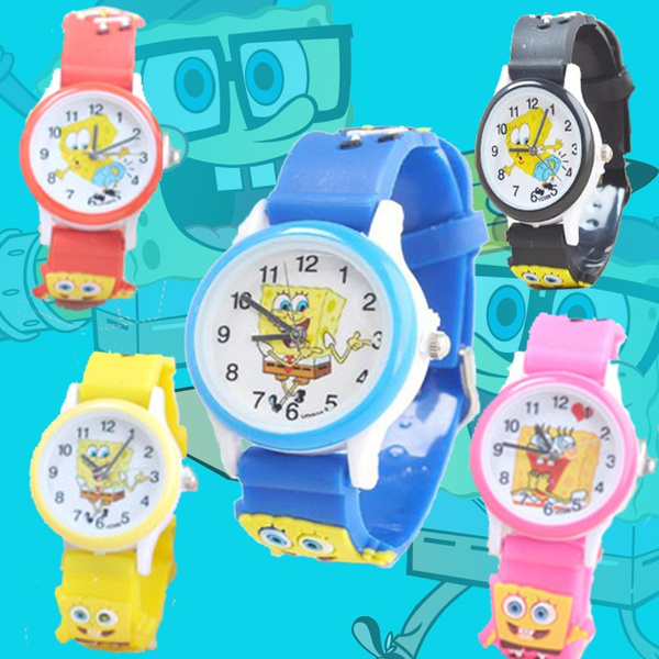 Sponge Bob, Watches, quartz, Christmas