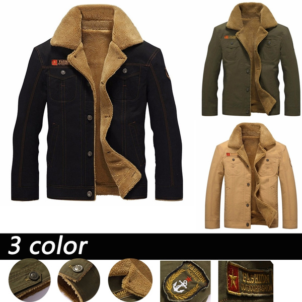 winter coat, aircraftjacket, winterjackeherren, Jackets for men