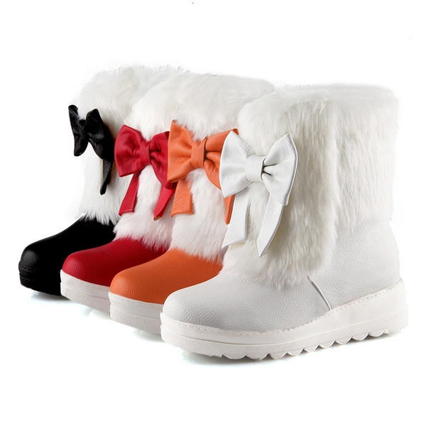 anklehighboot, platformboot, fur, Winter