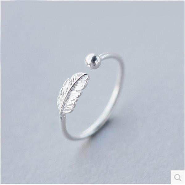 Sterling, leaf, Jewelry, finesilvertreatment