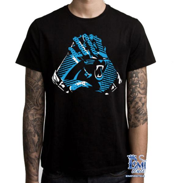 Mens T Shirt, Carolina Panthers, shortsleevestshirt, Clothing & Accessories