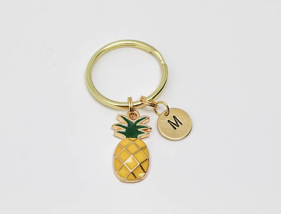 pineapplejewelry, Summer, Key Chain, bff