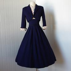 Blues, Swing dress, bolerojacket, Vintage Dresses