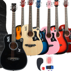 Musical Instruments, guitarstring, Acoustic Guitar, basswoodguitar