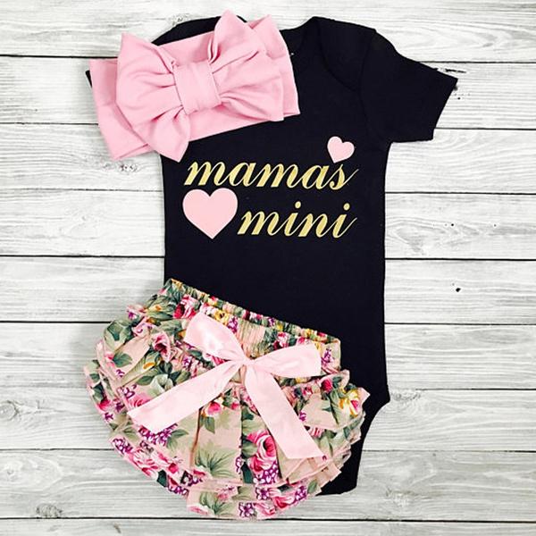 cute, Baby Girl, Shorts, Mini