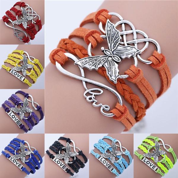 butterfly, infinity bracelet, Infinity, Love
