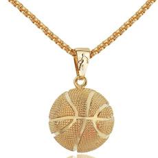 Steel, Basketball, Jewelry, gold