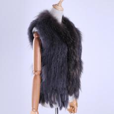 Vest, fur, furvestcoat, rabbitfurvest