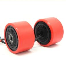 dualdrivehubmotorwheel, Electric, longboard, Skateboard