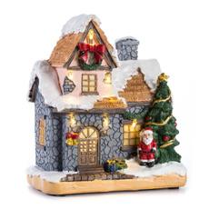 tinyhouse, led, christmasvillagehouse, xmasgifttoy