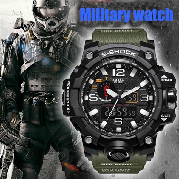 quartz, led, Fashion, quartz watch
