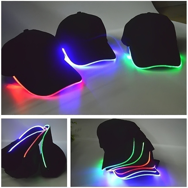 Fashion, led, unisexhat, Cap