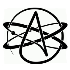Funny, atheistsymbol, motorbike, Cars