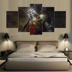 King, Decor, unframed, Wallpaper