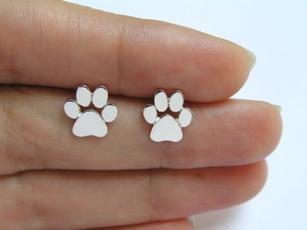 Jewelry, Pets, dogpawearring, ear studs