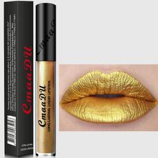pink, velvet, Lipstick, gold