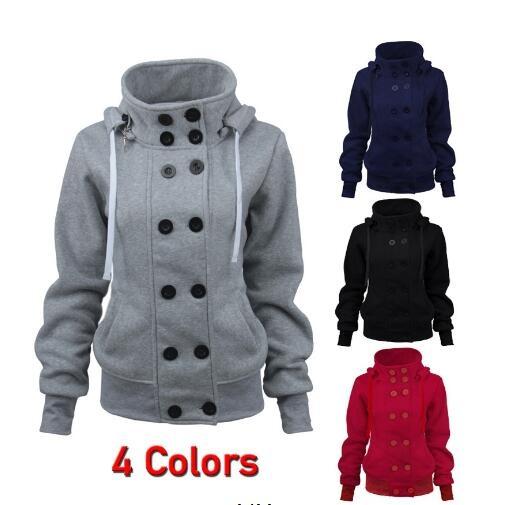 hooded, Winter, Long Sleeve, Coat