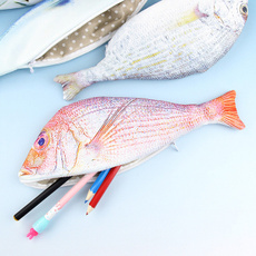 pencilcase, Beauty, pencil, fish