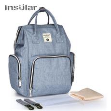 Waterproof, fashion bag, Backpacks, diaperbackpack