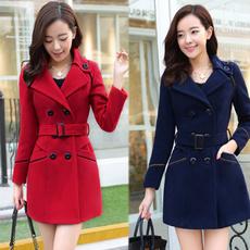 woolen, Fashion, Winter, Long Coat