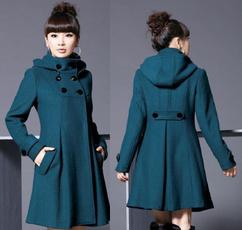 woolen, woolen coat, Coat, windbreaker