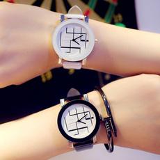 quartz, bracelets for couple, fashion watches, leather
