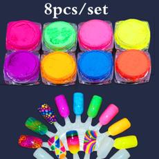 nailpowder, art, Colorful, Beauty